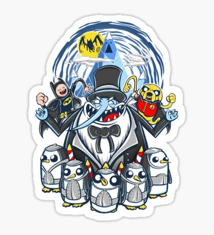 Penguin Time Sticker
