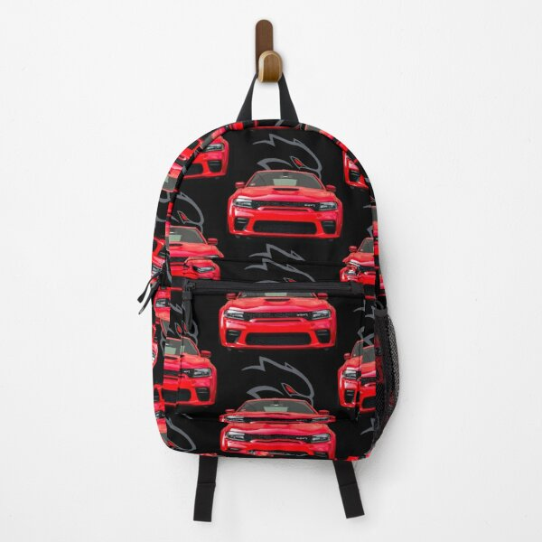 Red Hellcat Front Backpack