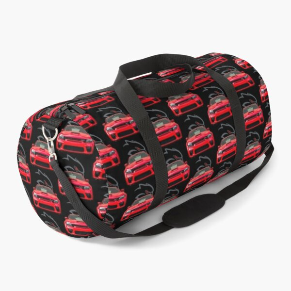 Red Hellcat Front Duffle Bag