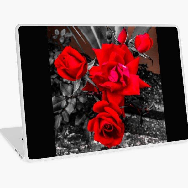 Red Roses Color Pop  Laptop Skin
