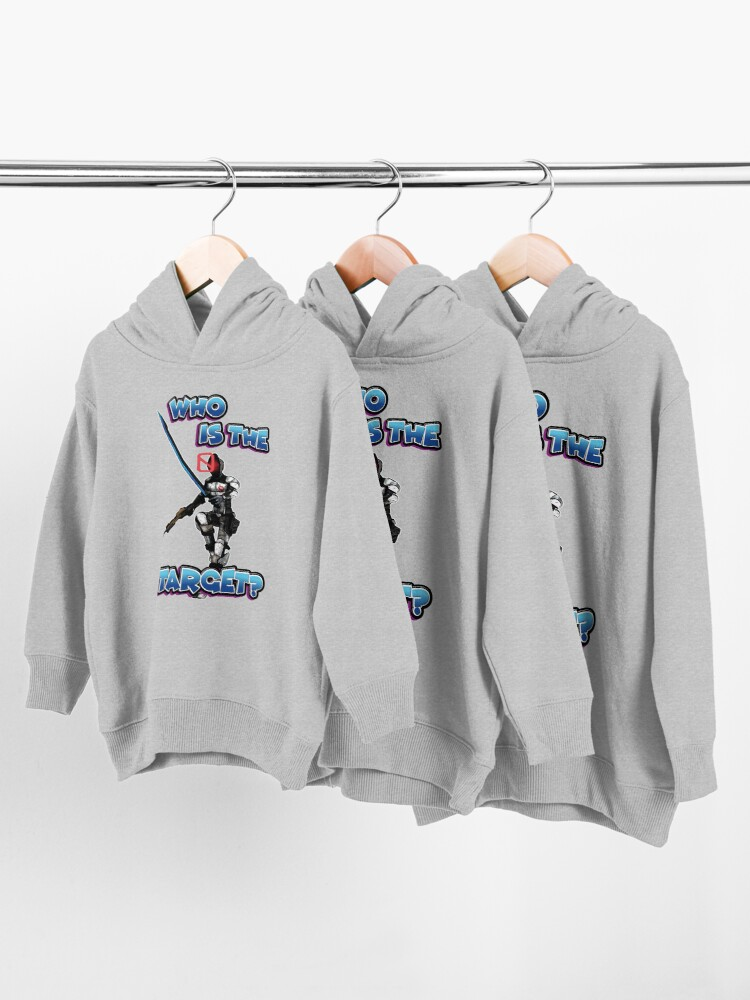 Alternate view of Zer0 The Assassin Who Is The Target? Borderlands Toddler Pullover Hoodie
