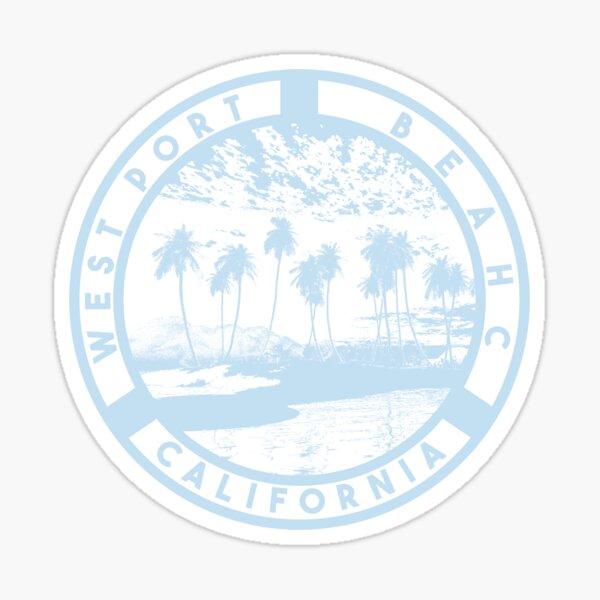 westport beach california sticker stickers brandy Sticker