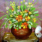 irrigate flowers  by kseniako