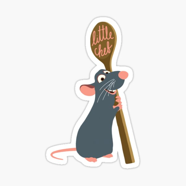 Remy the Little Chef Sticker