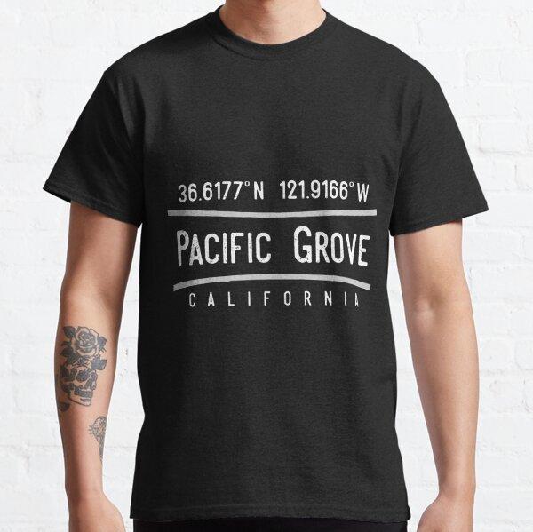 Pacific Grove, CA Coordinates Classic T-Shirt