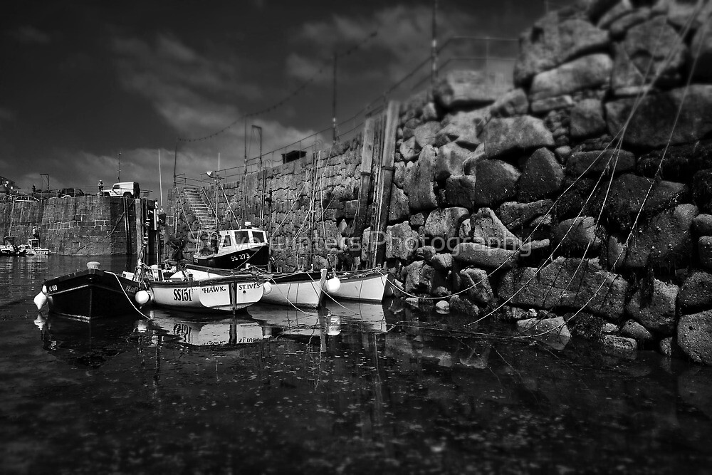 Cornish harbour by Steve winters Photography