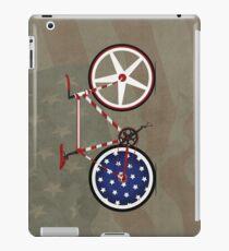 I Love My American  Bike iPad Case/Skin