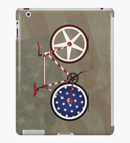 I Love My American  Bike iPad Case/Skin