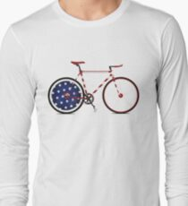 I Love My American  Bike Long Sleeve T-Shirt