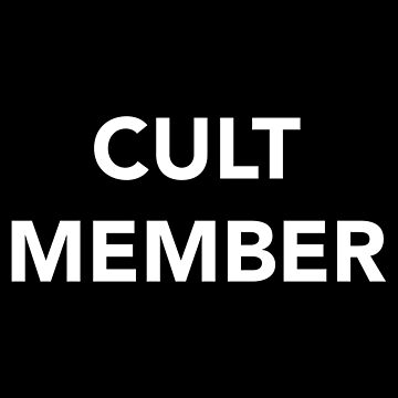 CULT MEMBER (WHITE) by wilu