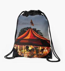Carnival Tent Drawstring Bag