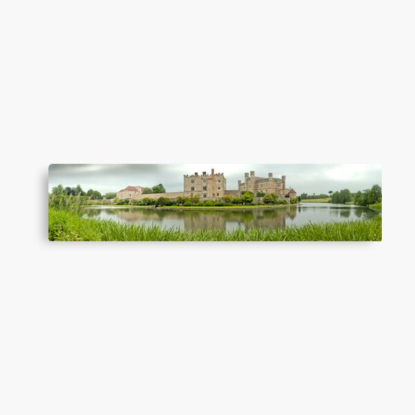 Leeds Castle Panorama ( best viewed larger ) Canvas Print