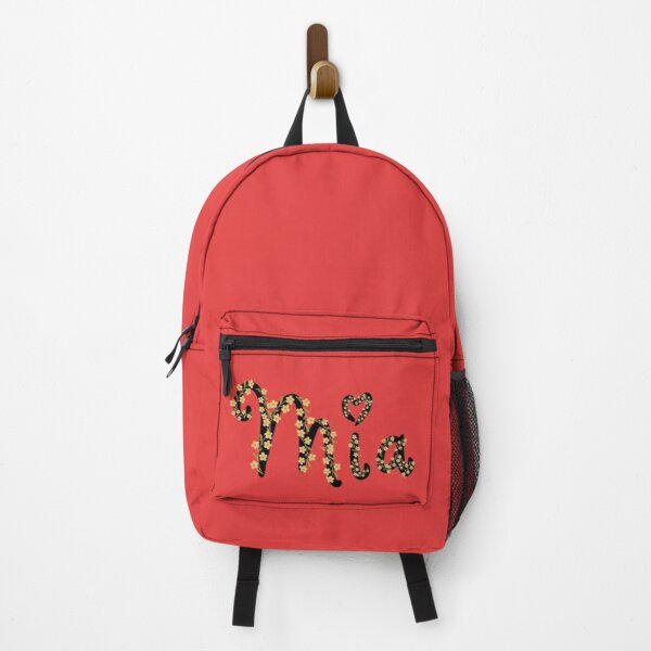 Mia name Backpack
