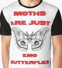 Emo Butterflies  Graphic T-Shirt