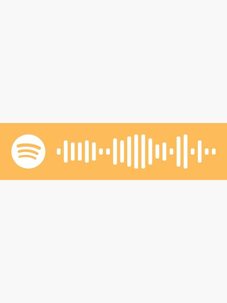 Feeling Whitney-Post Malone Spotify Code by sidney354