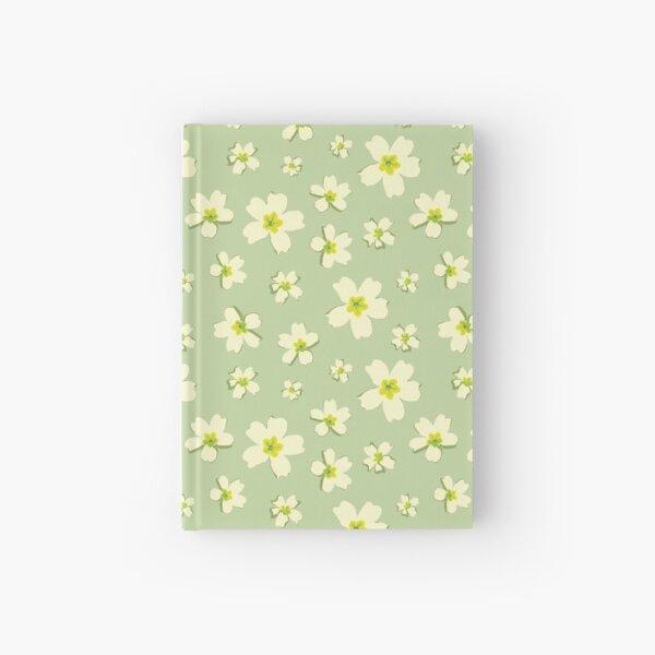 Portuguese Flowers Pattern - Green Hardcover Journal
