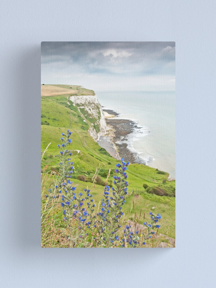 Alternate view of White Cliffs of Dover Canvas Print