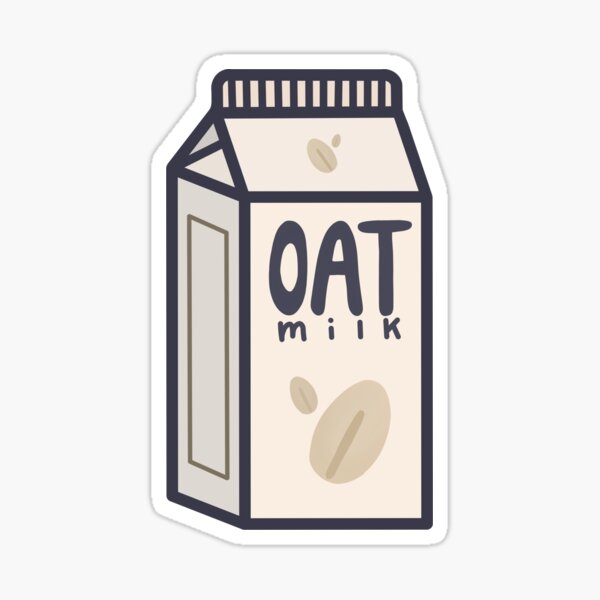 Oat Milk Sticker