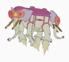 Ancient Psychic Tandem War Elephant | Unisex T-Shirt