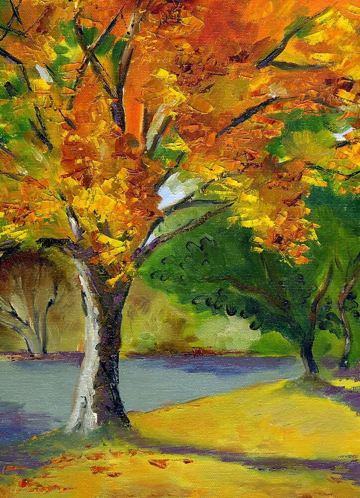 Autumn Tree by Barbara Nye