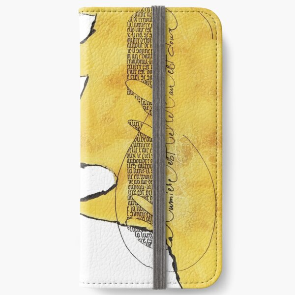 """""""the light is beautiful iPhone Wallet"""