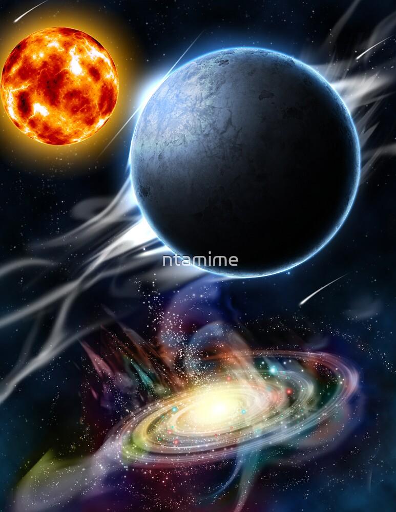 Celestial Big Bang by ntamime