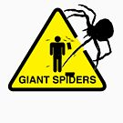 Warning: Giant Spiders by W4rnings