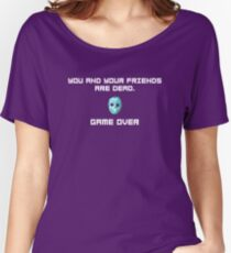 You and Your Friends Are Dead :) Women's Relaxed Fit T-Shirt