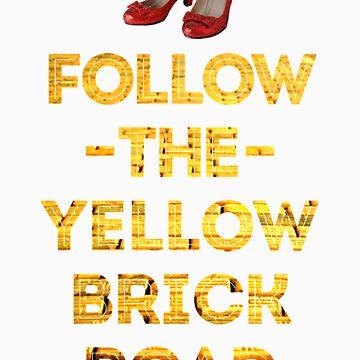 Follow The Yellow Brick Road by emilymckelvey