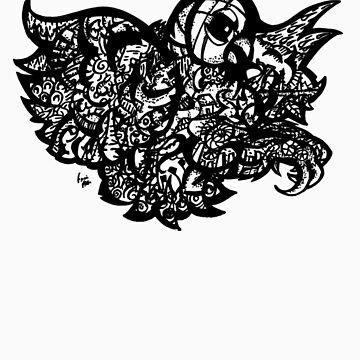 Owl Baby Adults Tee by Frank Louis Allen by frankart