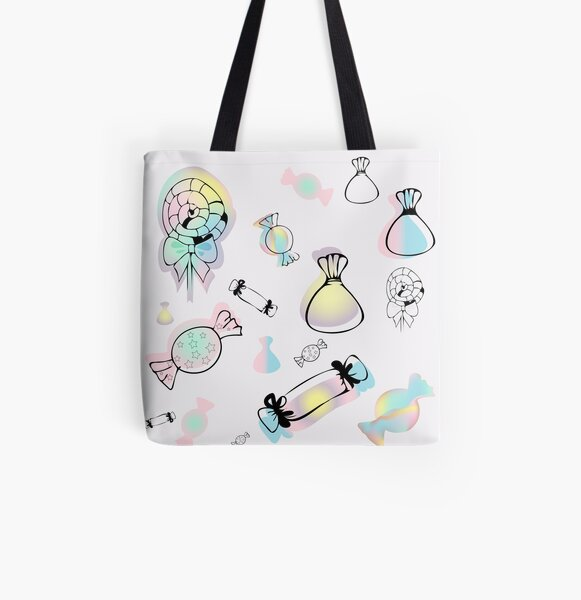Seamless pattern. Rainbow sweets All Over Print Tote Bag