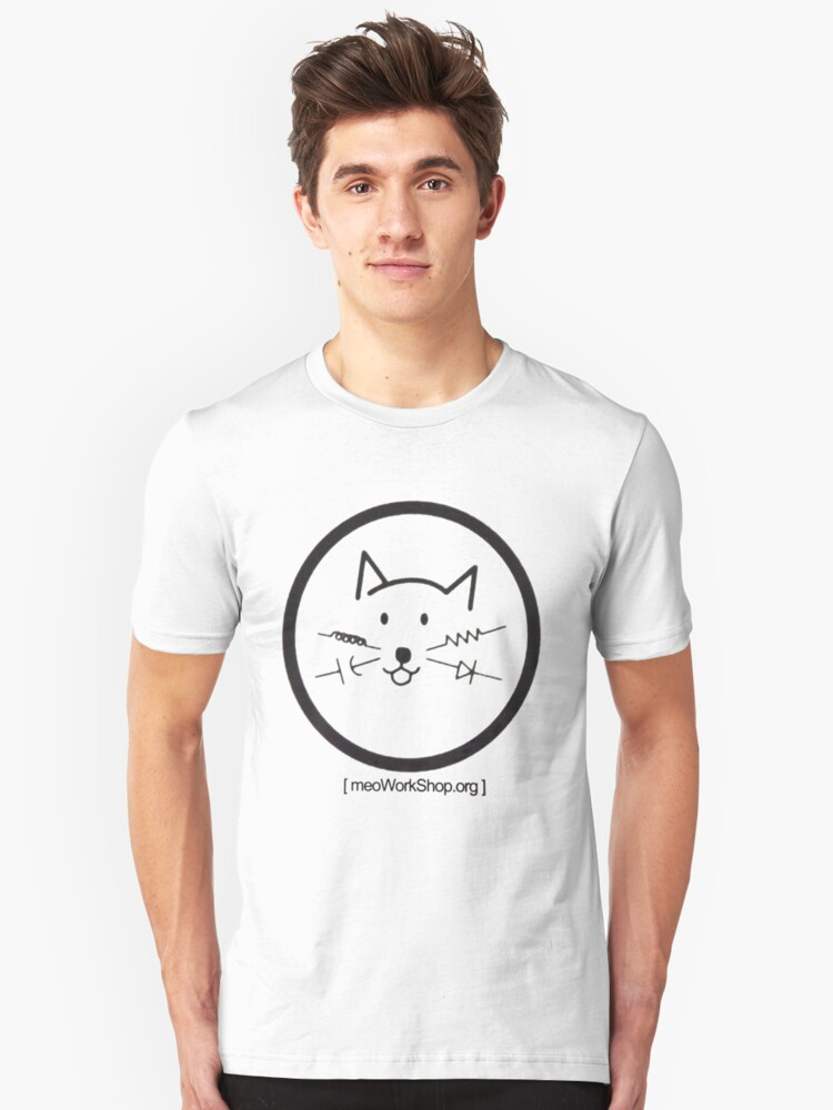 meoWorkShop Unisex T-Shirt Front