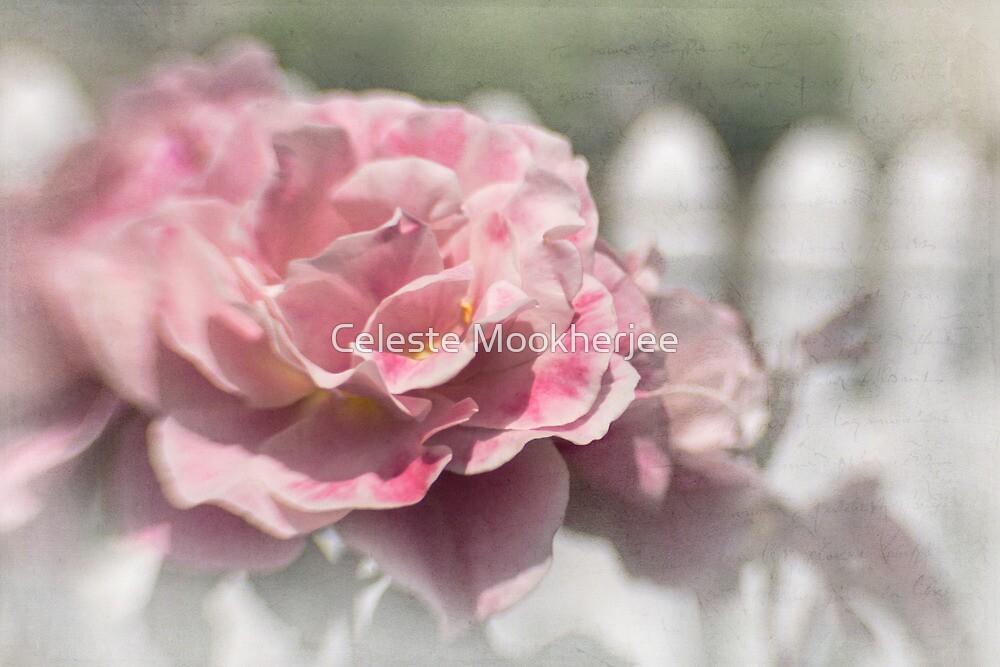 Romantic rose garden by Celeste Mookherjee