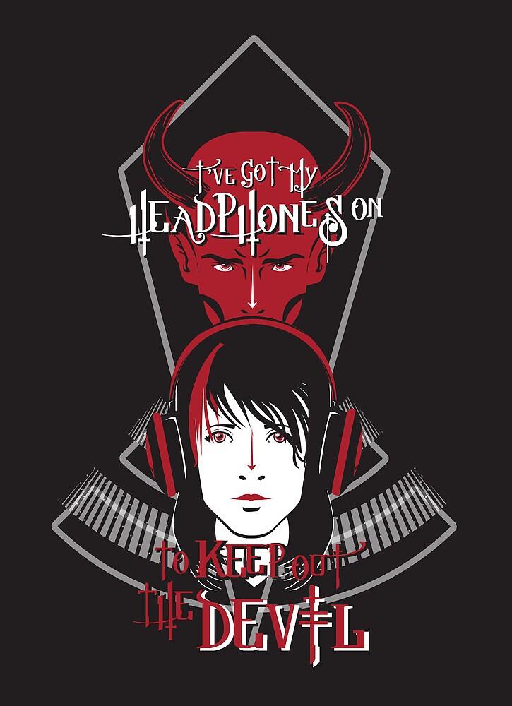 Headphones vs. the Devil by PhatKat