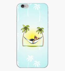 Yorkie Island Princess iPhone Case