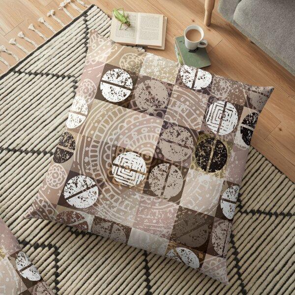 Bohemian Pattern Floor Pillow