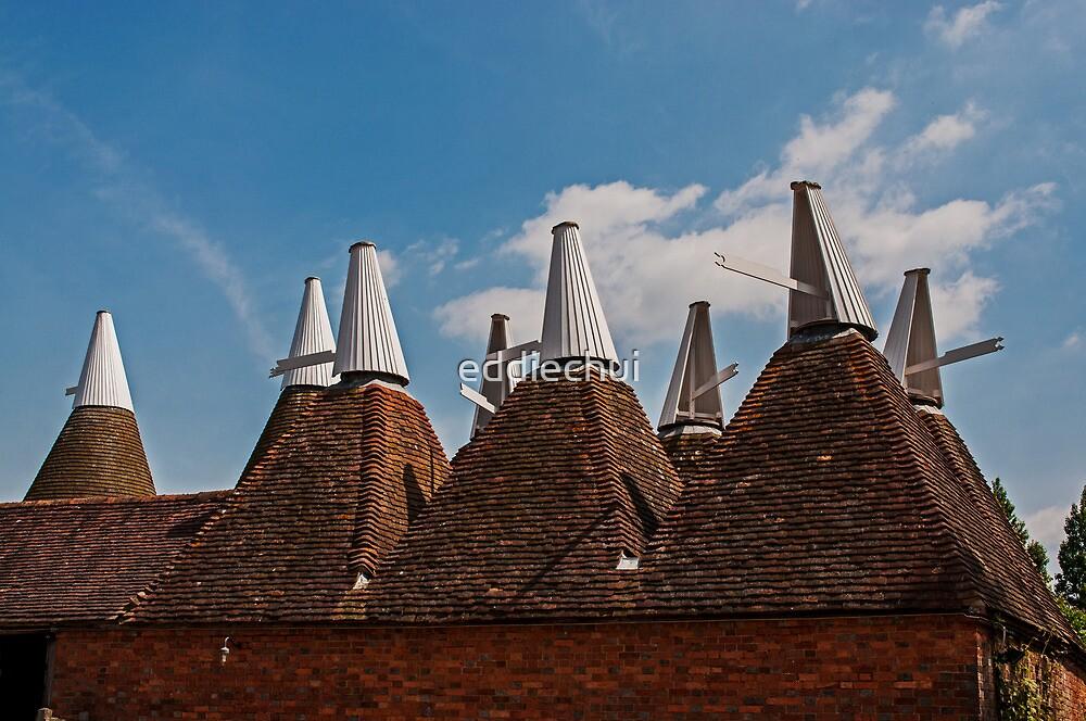 Oast Houses by eddiechui