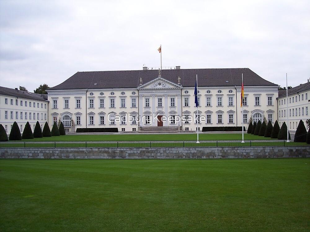 Bellevue Palace in Berlin, Germany by CadburyKeepsake