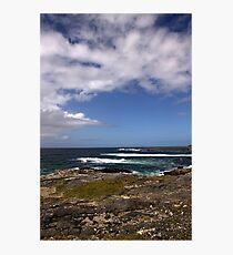Barra Coastline Photographic Print