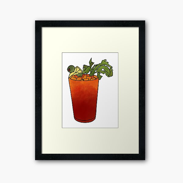 Bloody Mary Framed Prints Redbubble