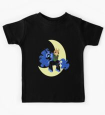 Loki and Nightmare Moon Kids Tee