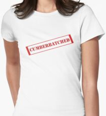 Cumberbatched tee Women's Fitted T-Shirt