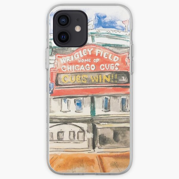Wrigley Field Watercolor iPhone Soft Case