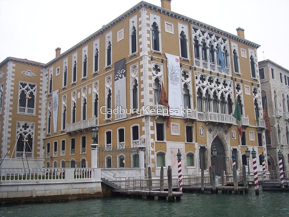 Hotel on the Waters of Venice by CadburyKeepsake