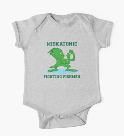 Miskatonic Fighting Fishmen Kids Clothes