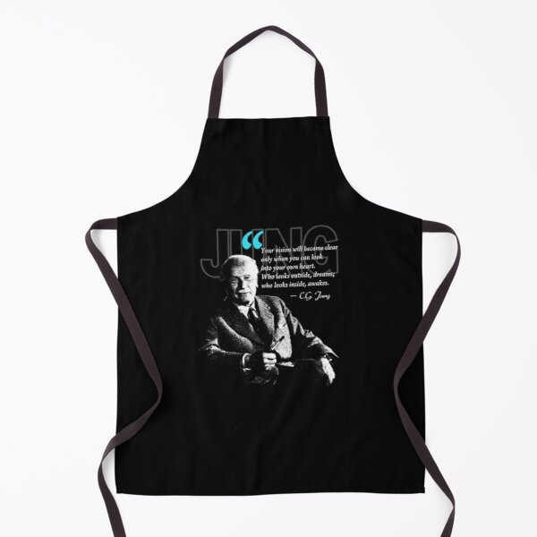 A Quote from Carl Gustav Jung Quote Dreams Apron