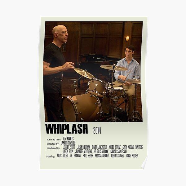 Whiplash Alternative Poster Art Movie Large (2) Poster