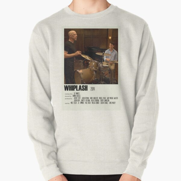 Whiplash Alternative Poster Art Movie Large (2) Pullover Sweatshirt