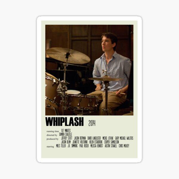 Whiplash Alternative Poster Art Movie Large (3) Sticker