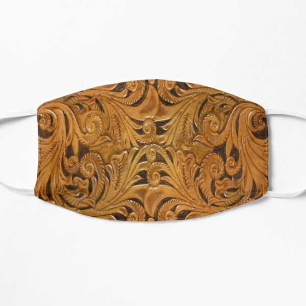 Leather Tooled Design by Joeville13 Flat Mask